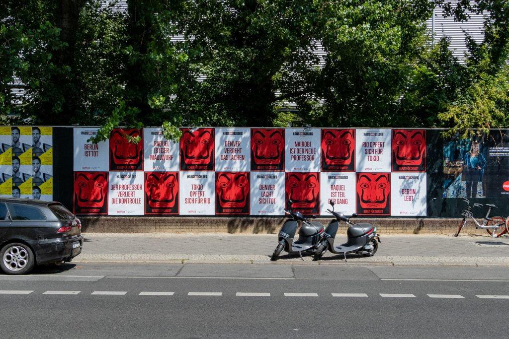 reklama ogrodzenie